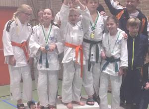 Judoclub Helden succesvol in Baexem en Gemert