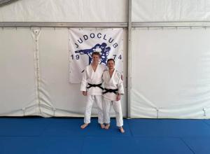Tom van Dijk en Rick Manders Judoleraar A