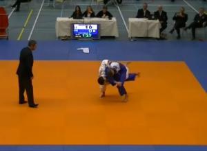 Rick Manders zevende op NK Judo