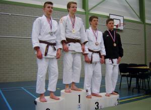 Guus Manders Limburgs kampioen judo -18
