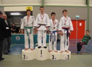 4 Judoka's naar NK -15